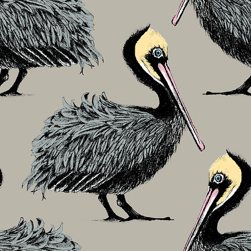 Pelican Fabric sample  - Taupe