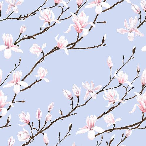 Magnolia wallpaper-Kimono