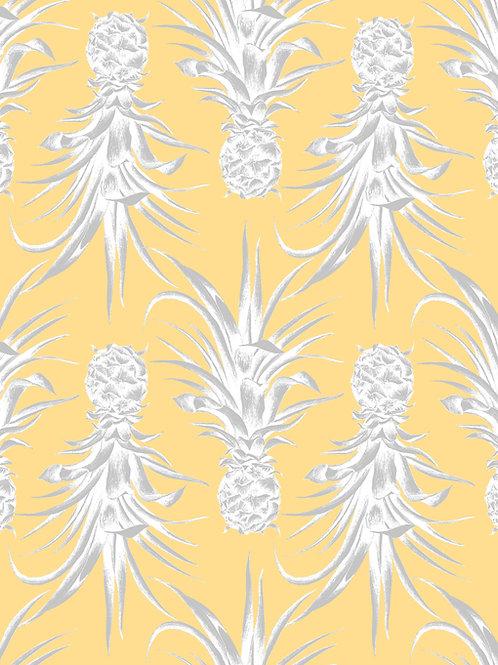Pina colada wallpaper- Yellow