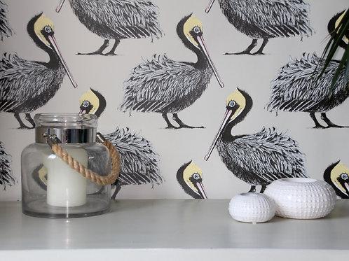 Pelican Wallpaper - Oyster