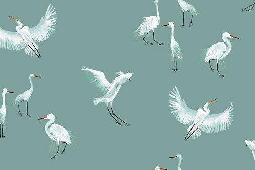 Egret -Topaz fabric