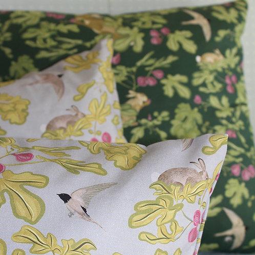 Fig cushion- grey