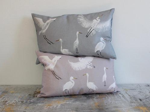 Egrets lumber cushion