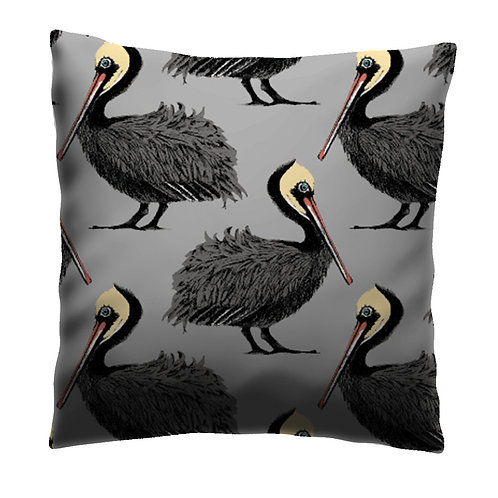 Pelicans - Cushion Grey