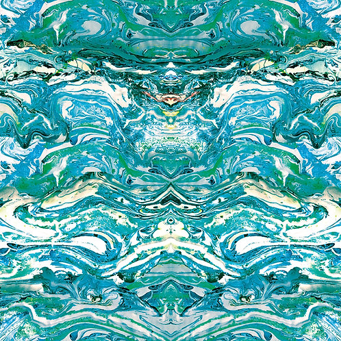 Marbled fabric-Tourmaline