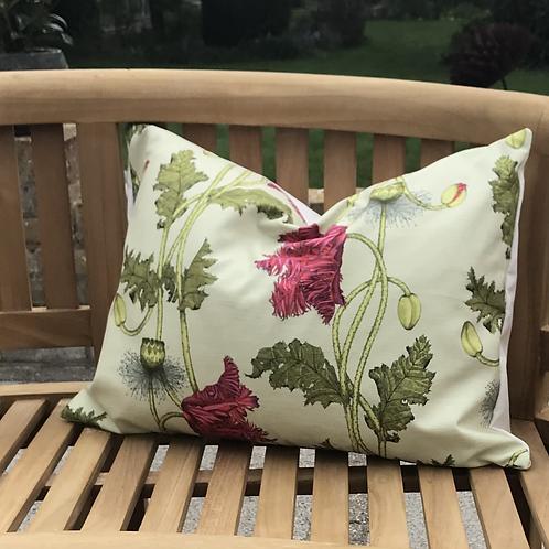 Poppy fabric - willow