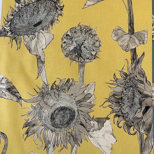 Sunflower interior fabric- Dijon
