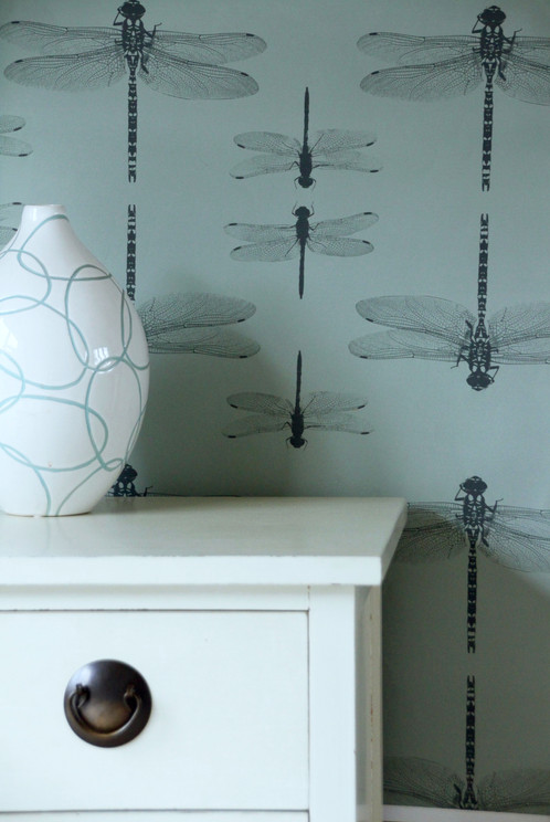 Bring A Bit Of Summer Style To Your Room With Our Simply Dragonflies Wallpaper Petronella Says The Dragonfly Is My Favourite Insect Beautiful