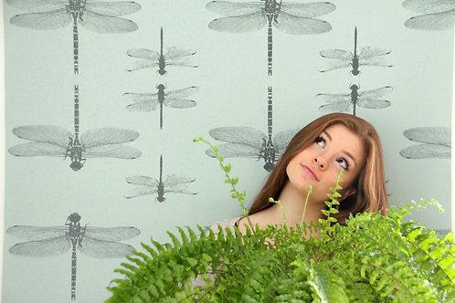 Simply Dragonflies Wallpaper - Sample