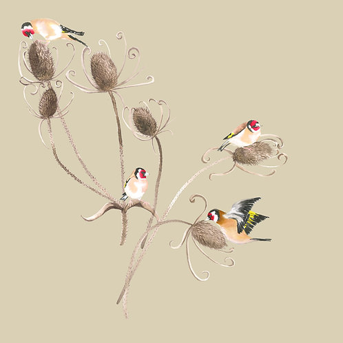 Goldfinches Wallpaper