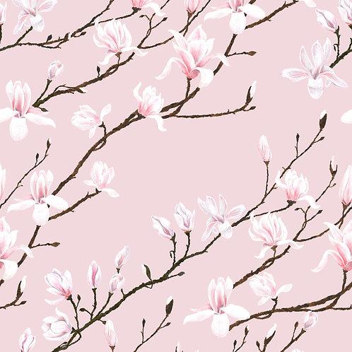 Magnolia wallpaper -Geisha