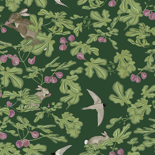 Fig -green interior fabric