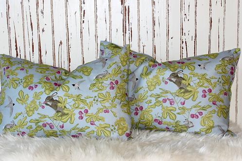 Fig cushion - Grey