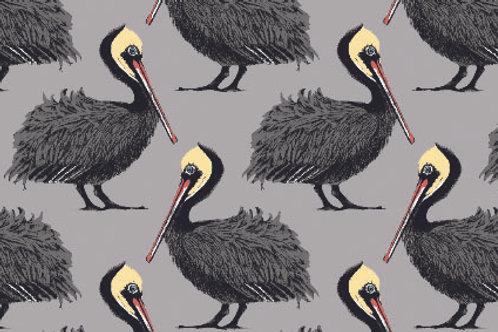 Pelican Fabric sample- grey
