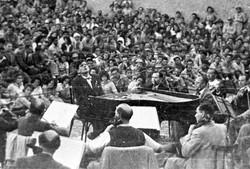 Leonard Bernstein in Beersheba