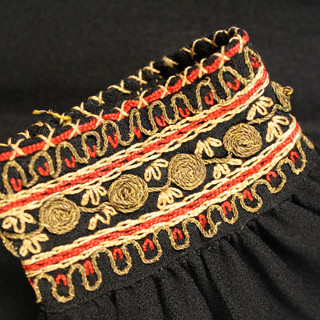 1940s Yemenite Embroidered Dress (detail)