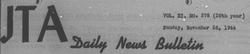 JTA, November 26, 1944
