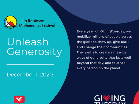 #GivingTuesday is Tomorrow!