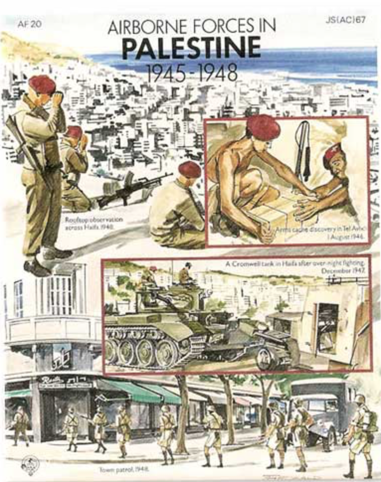 British Forces in Palestine
