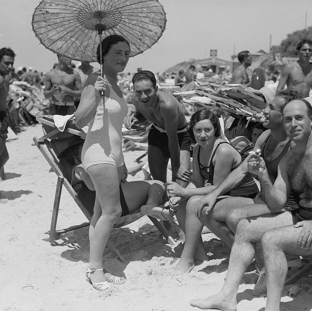 Tel Aviv Beach 1935