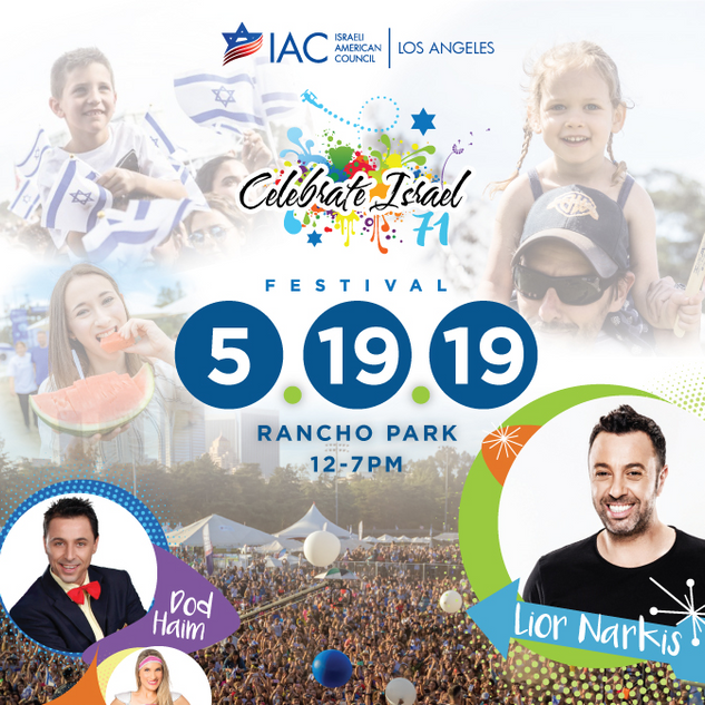 Celebrate Israel Festival 2019
