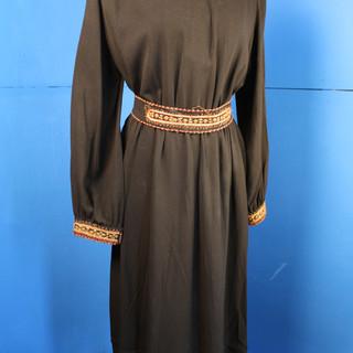 1940s Yemenite Embroidered Dress