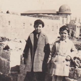 Avraham & Shula Dubno early 1930s, Jerusalem