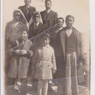 Avraham, Shula & Yaakov Dubno early 1930s
