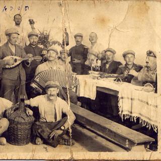 Sabbah Dubno, Jerusalem 1917