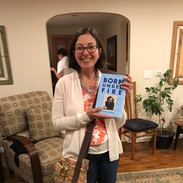 Book reading at the Banai's in Redmond, WA