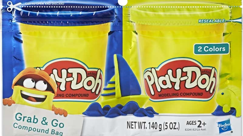Play doh Grab n Go Compound bag