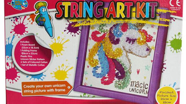 3D Unicorn String Art.