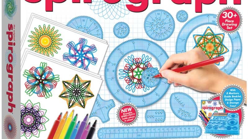 The original Spirograph with markers