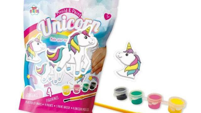 Mould and Paint Unicorns