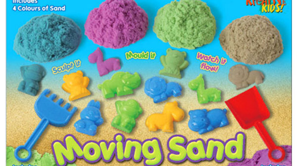 Moving Sand With Animals Set