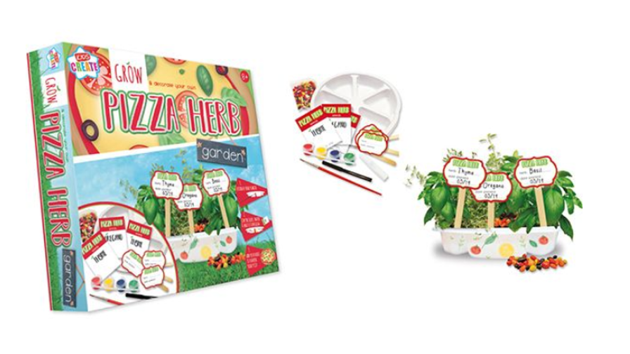Grow & Decorate Your Own Pizza Herb Garden