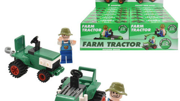 Tractor Bricks Sets 2 Assorted.
