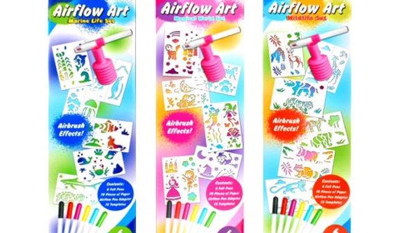 Airflow art pen set (one provided)