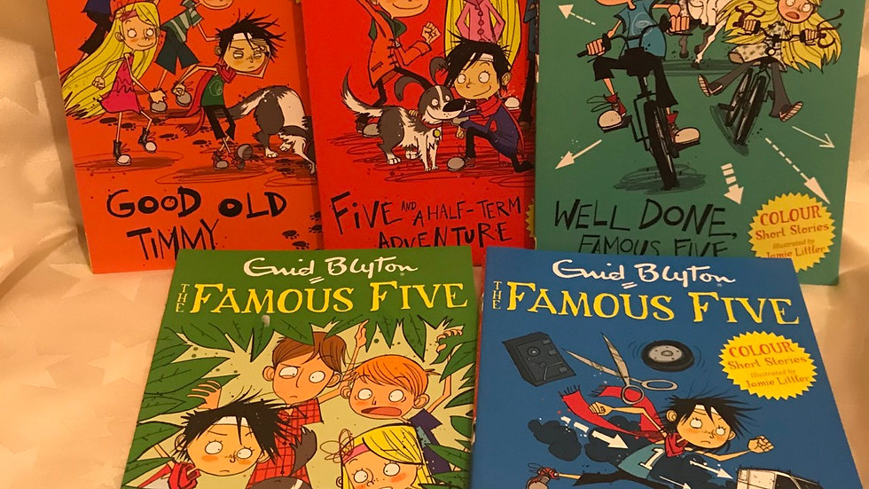 The famous five - 5 books