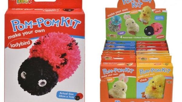 Make your own pom pom kit
