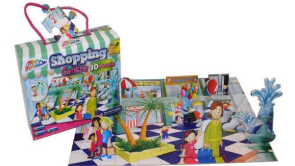 3D Shopping Centre Puzzle 45 Pieces.