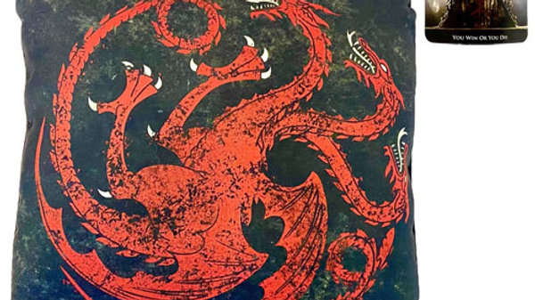 Official Game Of Thrones Cushion Targaryen