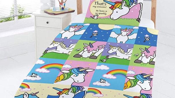 That's Not My Unicorn Bedding Set (toddler)