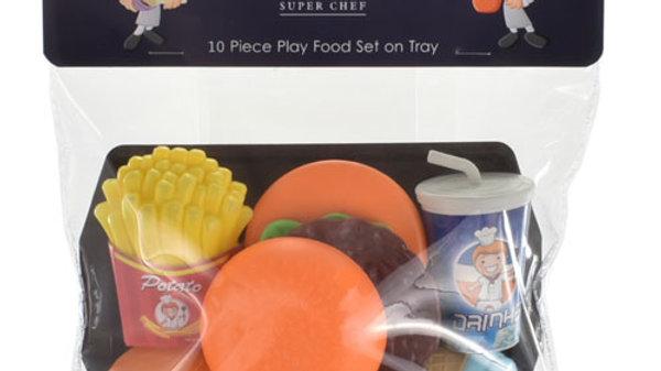 10 Piece Food Play Set.