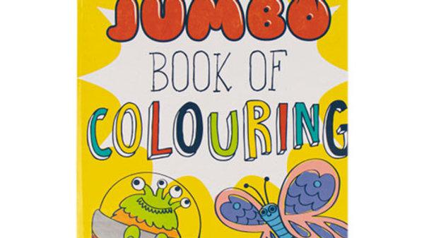 Super Jumbo Colouring Book.