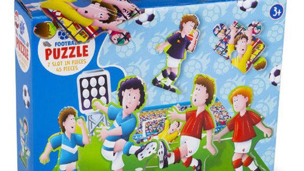 3D Football Match Puzzle 45 Pieces.