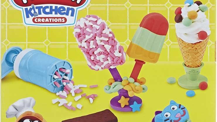 Play Doh Frozen Treats