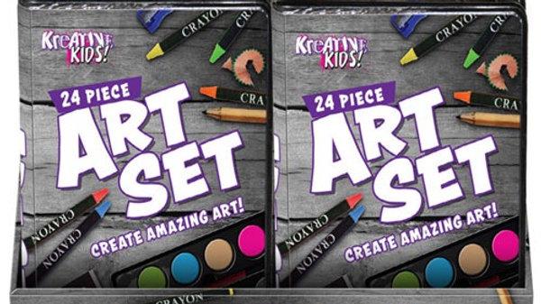 24 Piece Art Set