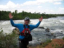 Wayne Du plooy White nile kayaking
