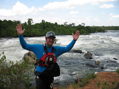 Wayne Du plooy White nile kayaking